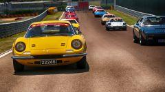 Ferrari festeggia i 50 anni dalla prima messa su strada della Dino - Immagine: 10