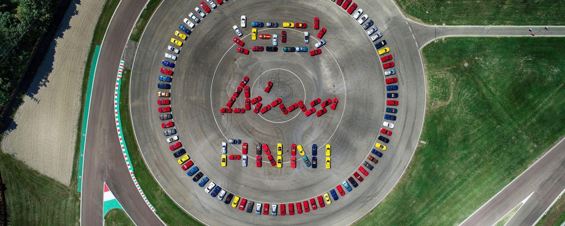 Ferrari festeggia i 50 anni dalla prima messa su strada della Dino