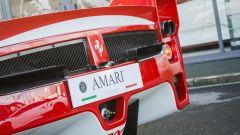 Ferrari FXX convertita stradale: dettaglio dell'estrattore