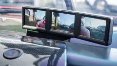 Ferrari FXX convertita stradale: i monitor fungono da retrovisori