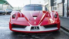 Ferrari FXX convertita stradale: vista frontale