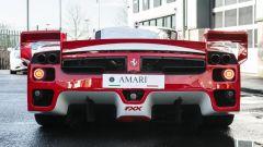 Ferrari FXX convertita stradale: vista posteriore
