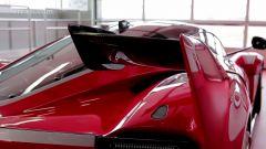 Ferrari FXX K: dettaglio dell'alettone posteriore