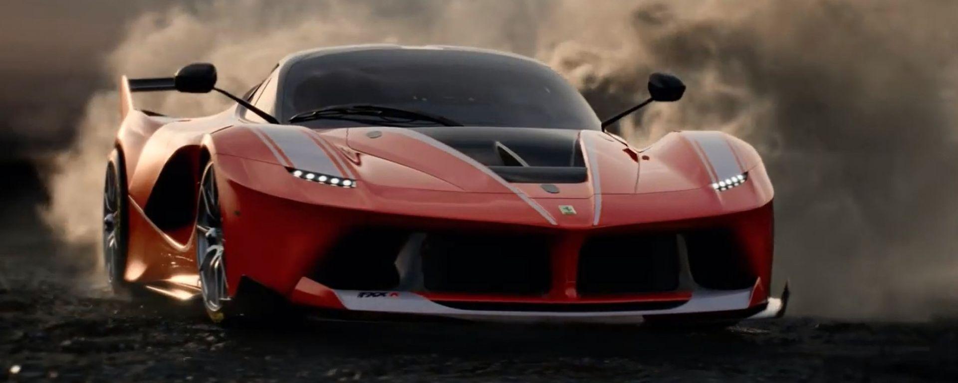 Ferrari FXX K, eccola in azione nel video... di un orologio