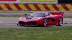 Ferrari FXX K: in pista, guida Vettel