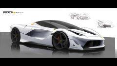 Ferrari FXX K, la genesi del design - Immagine: 8