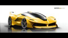 Ferrari FXX K, la genesi del design - Immagine: 7