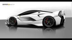 Ferrari FXX K, la genesi del design - Immagine: 6