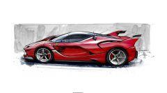 Ferrari FXX K, la genesi del design - Immagine: 5