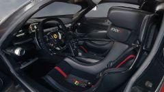 Ferrari FXX K: l'abitacolo