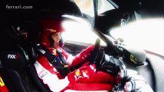 Ferrari FXX K: Sebastian Vettel alla guida
