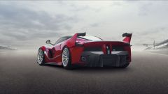 Ferrari FXX K: vista 3/4 posteriore