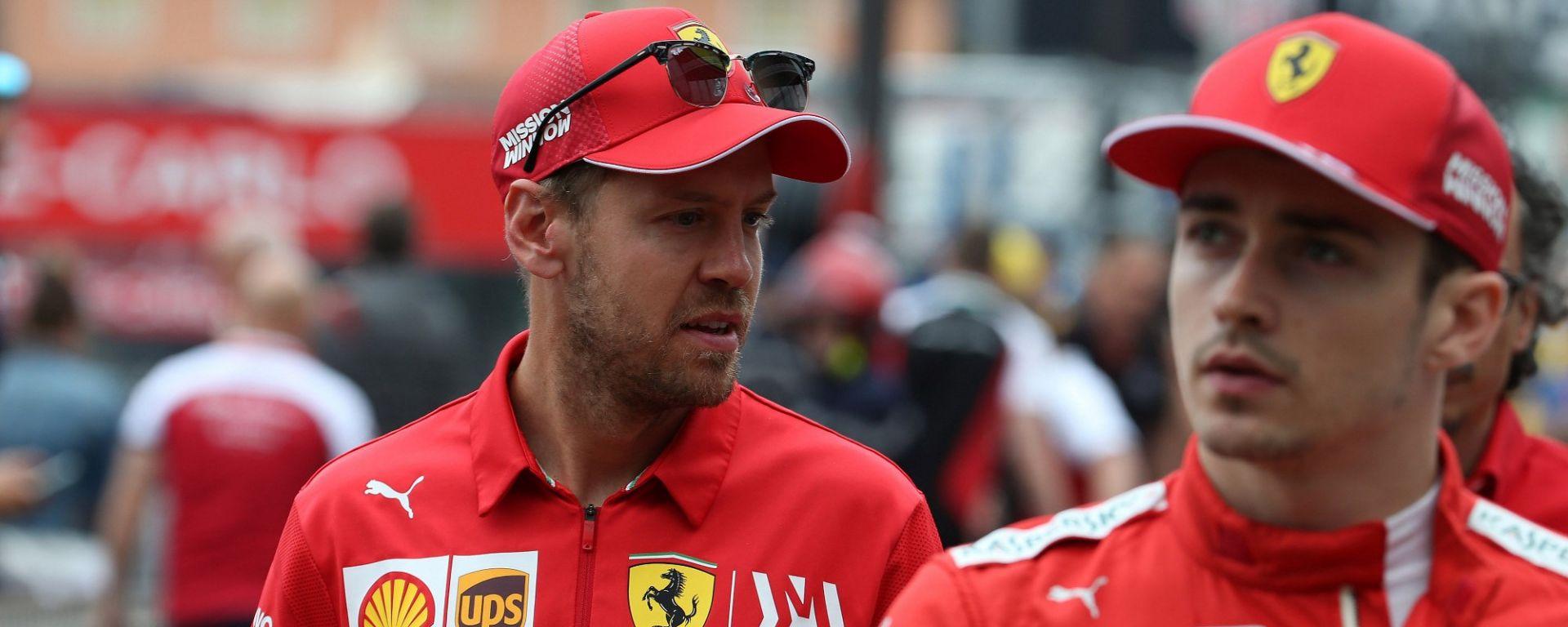 """Ferrari, giornata complicata a Monaco. Vettel: """"Ci manca fiducia"""""""