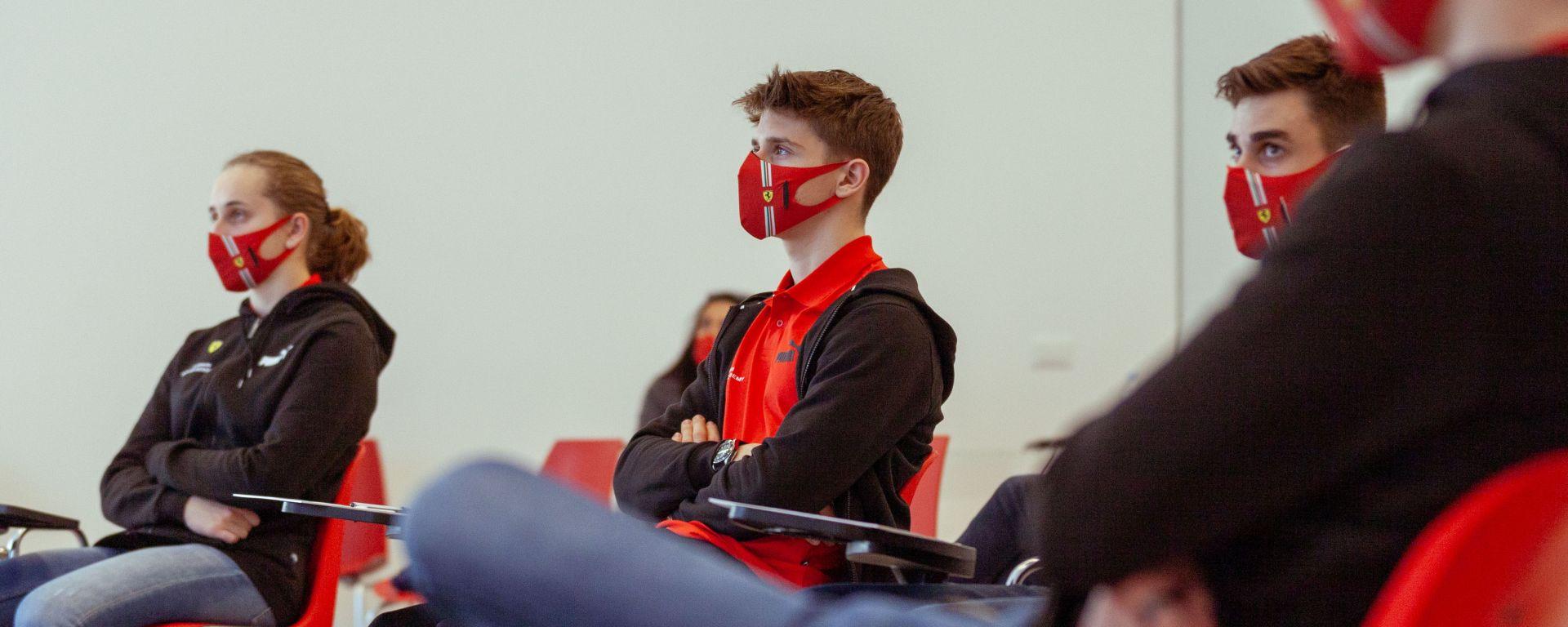 Ferrari, gli allievi della FDA alla ripresa dei corsi 2021