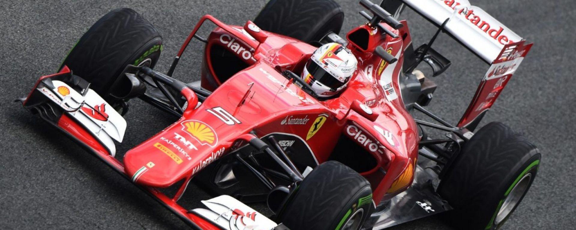 Ferrari: ansia e certezze nel GP della Cina