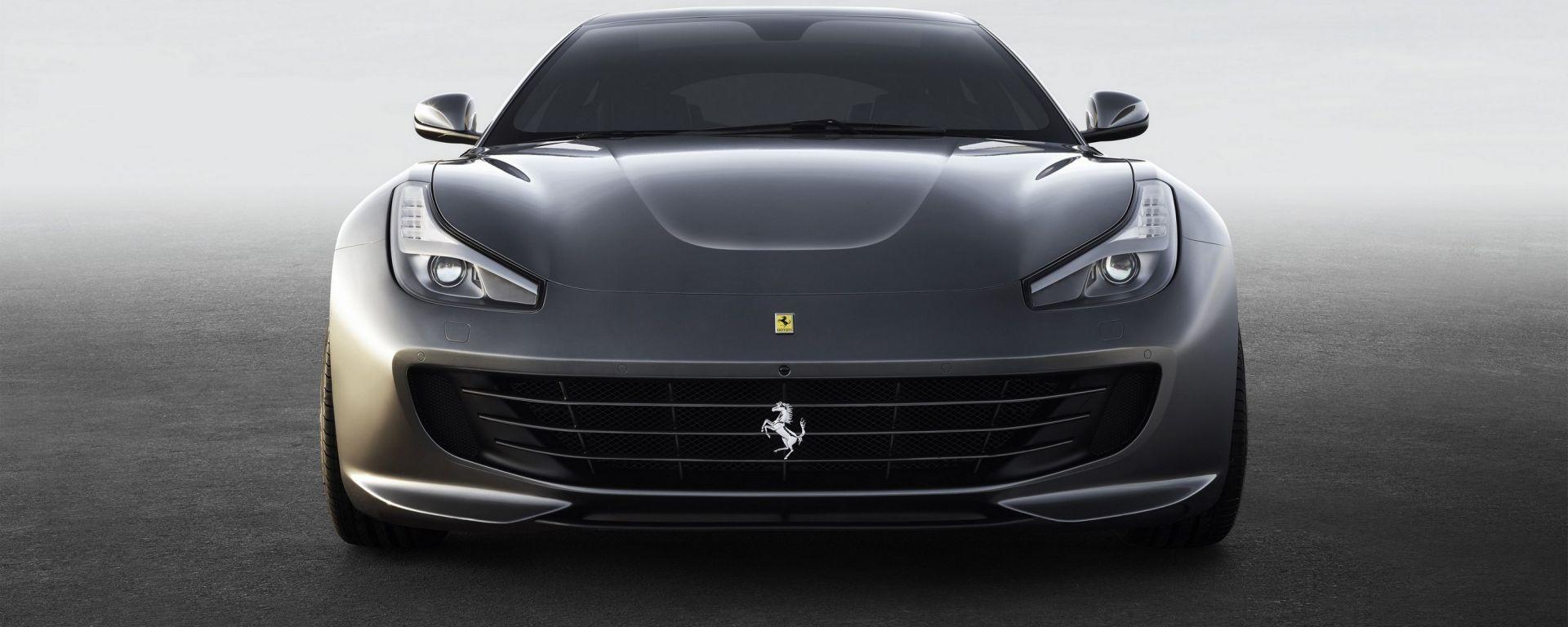 Ferrari GTC4 Lusso: vista frontale