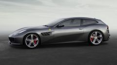 Ferrari GTC4 Lusso: vista laterale