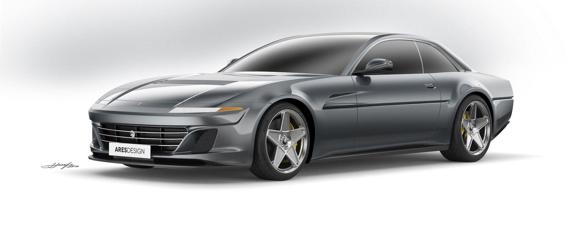Ferrari GTC4Lusso: Ares Design la trasforma in una moderna 412