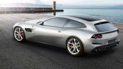 Ferrari GTC4Lusso T: vista 3/4 posteriore