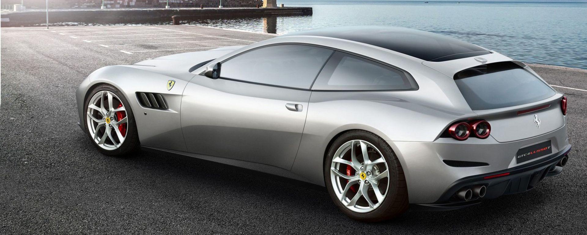 Ferrari GTC4Lusso T: prima V8 turbo a 4 posti di Maranello