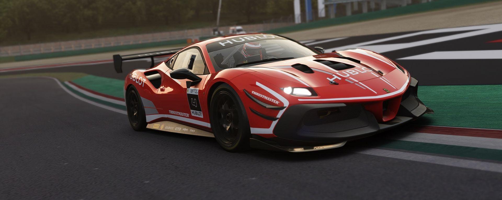 Ferrari Hublot Esport Series: la Ferrari 488 Challenge Evo su Assetto Corsa Competizione