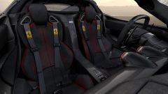 Ferrari LaFerrari Aperta per Save the Children: i sedili