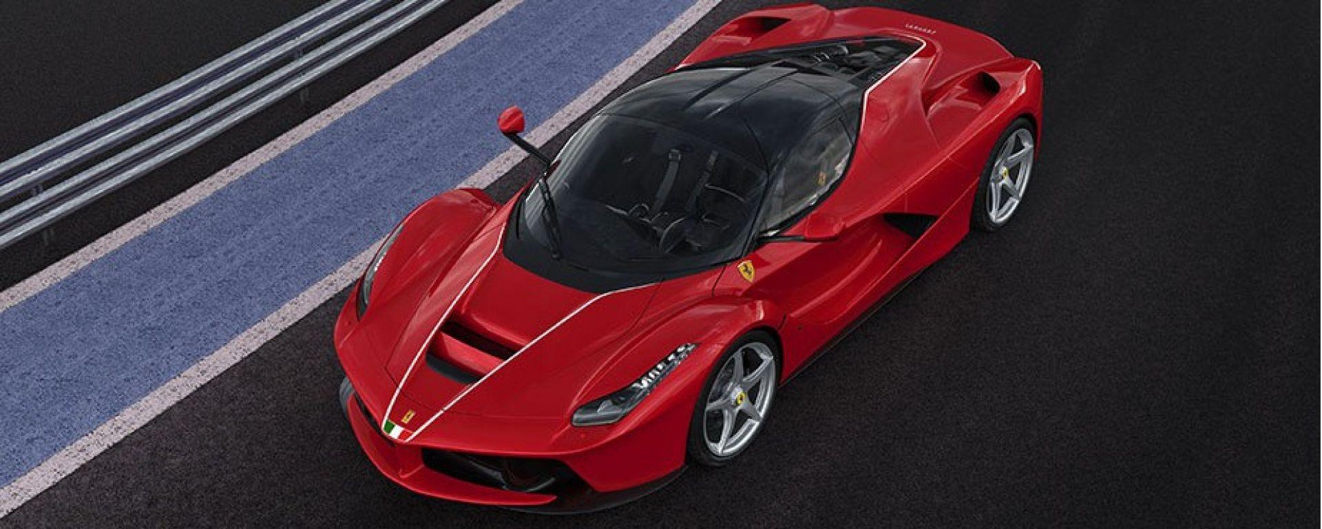 Ferrari LaFerrari: l'esemplare numero 500 per i terremotati del centro Italia