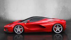 Ferrari LaFerrari, vista laterale