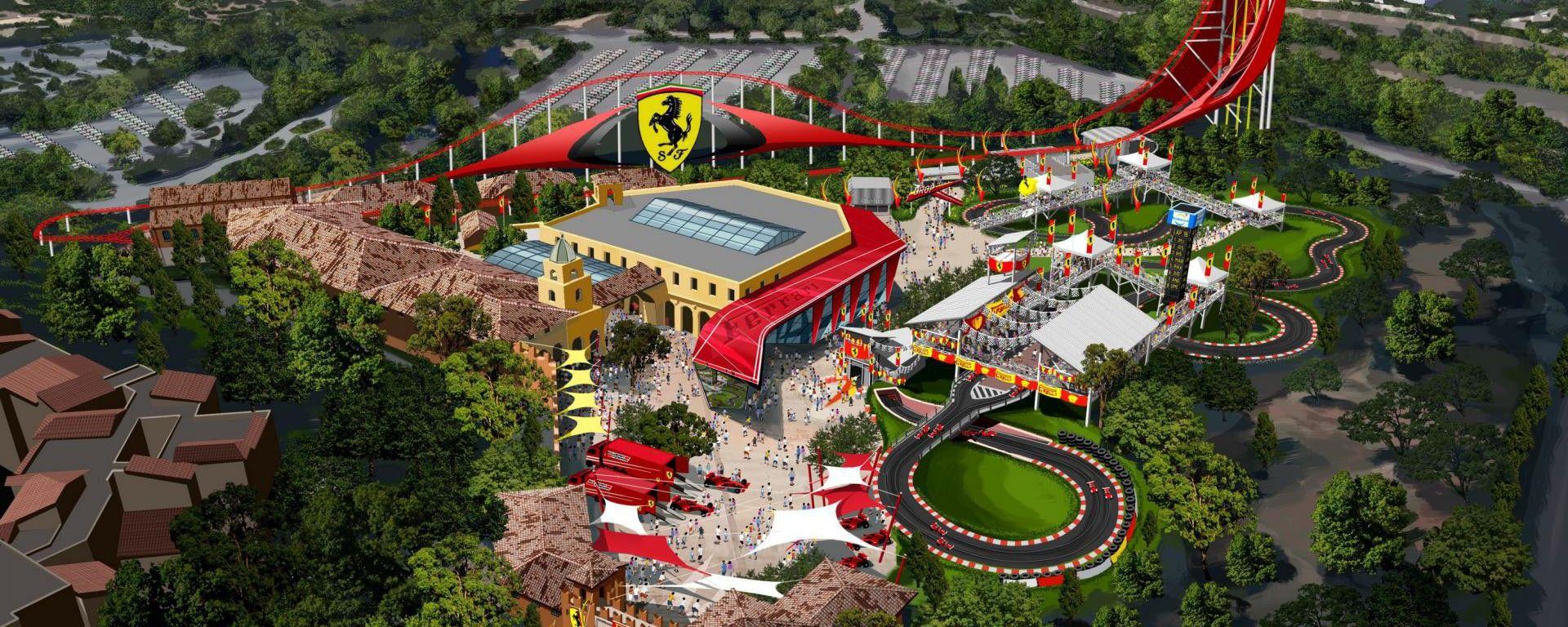 Ferrari Land: nel 2017 arriva a Barcellona