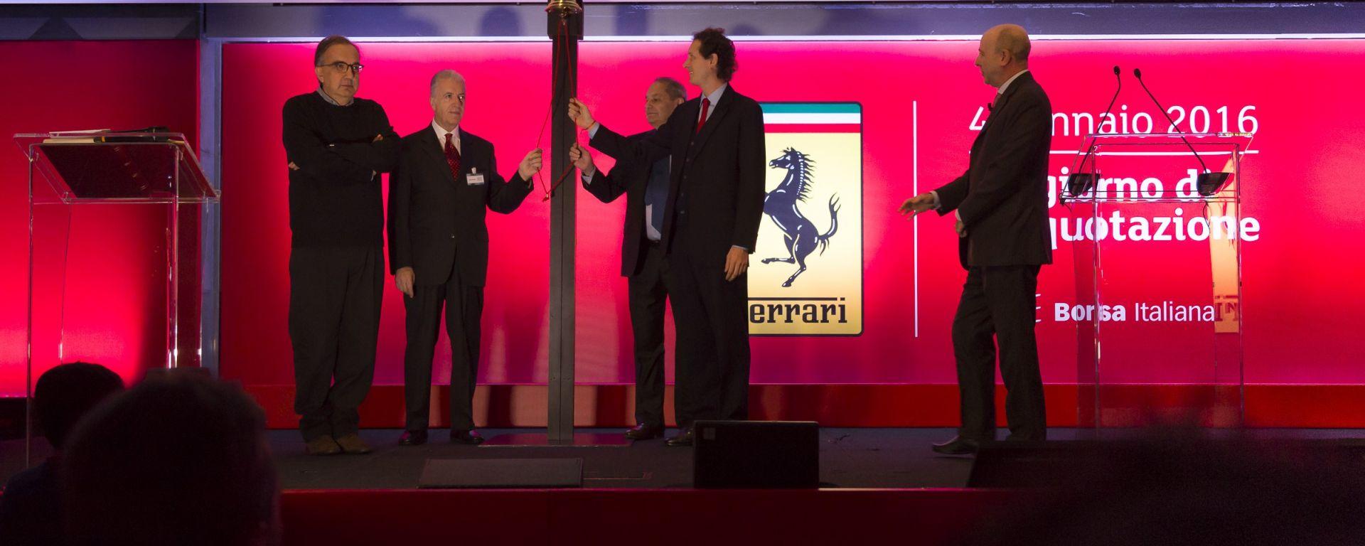 Ferrari: Marchionne subentra a Felisa nel ruolo di CEO