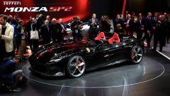 Ferrari Monza SP1 e SP2: in video dal Salone di Parigi 2018 - Immagine: 53