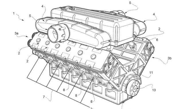 Ferrari nuovo motore V12 in arrivo