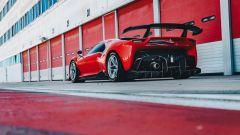 Ferrari P80/C statica posteriore