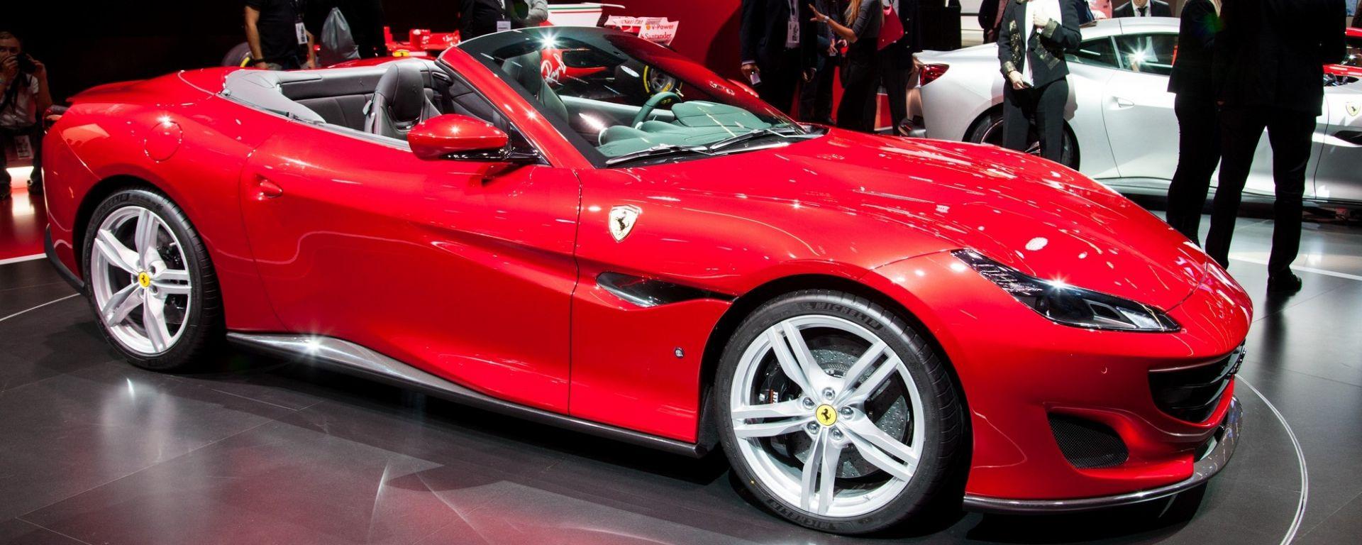 Ferrari Portofino al Salone di Francoforte 2017