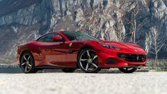 Ferrari Portofino M, 3/4 anteriore a capote chiusa