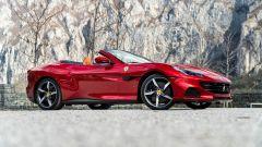 Ferrari Portofino M, 374 anteriore a capote aperta