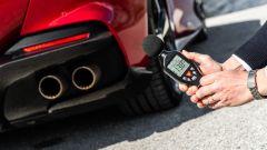Ferrari Portofino M alla prova del fonometro