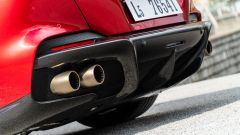 Ferrari Portofino M, dettaglio dello scarico