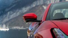 Ferrari Portofino M, dettaglio dello specchio retrovisore
