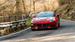 Ferrari Portofino M è rapidissima nei cambi di direzione