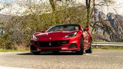 Ferrari Portofino M ha uno sterzo molto sensibile e diretto