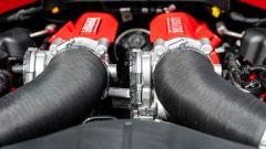 Ferrari Portofino M, i collettori di aspirazione