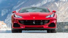 Ferrari Portofino M, il frontale