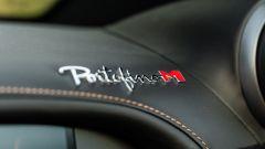 Ferrari Portofino M, il nome del modello riportato sulla plancia