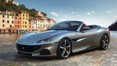 Ferrari Portofino M, il nuovo design dell'anteriore