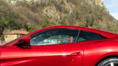 Ferrari Portofino M, il profilo del tetto