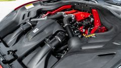 Ferrari Portofino M, il vano motore