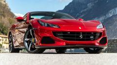 Ferrari Portofino M, la griglia anteriore