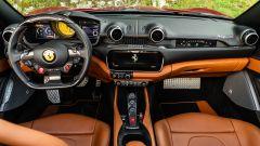 Ferrari Portofino M, la plancia