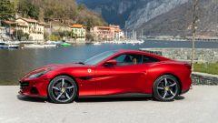 Ferrari Portofino M, la silhouette